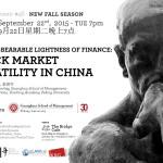 #46 - The (un)bearable lightness of finance: stock market volatility in China