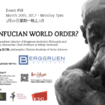 #58 - A Confucian World Order?
