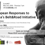 #67 - European Responses to China's Belt & Road Initiative