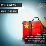 Weekly News - April 17 - 23, 2021