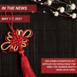 Weekly News - May 1-7, 2021