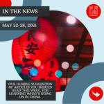 Weekly News - May 22-28, 2021