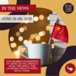 Weekly News - June 19-29, 2021